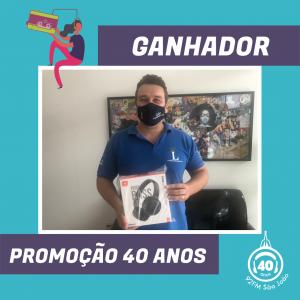 Caio Souza - Ganhador 2º Prêmio Fone JBL Tune 500BT - sorteio 25/01/2021